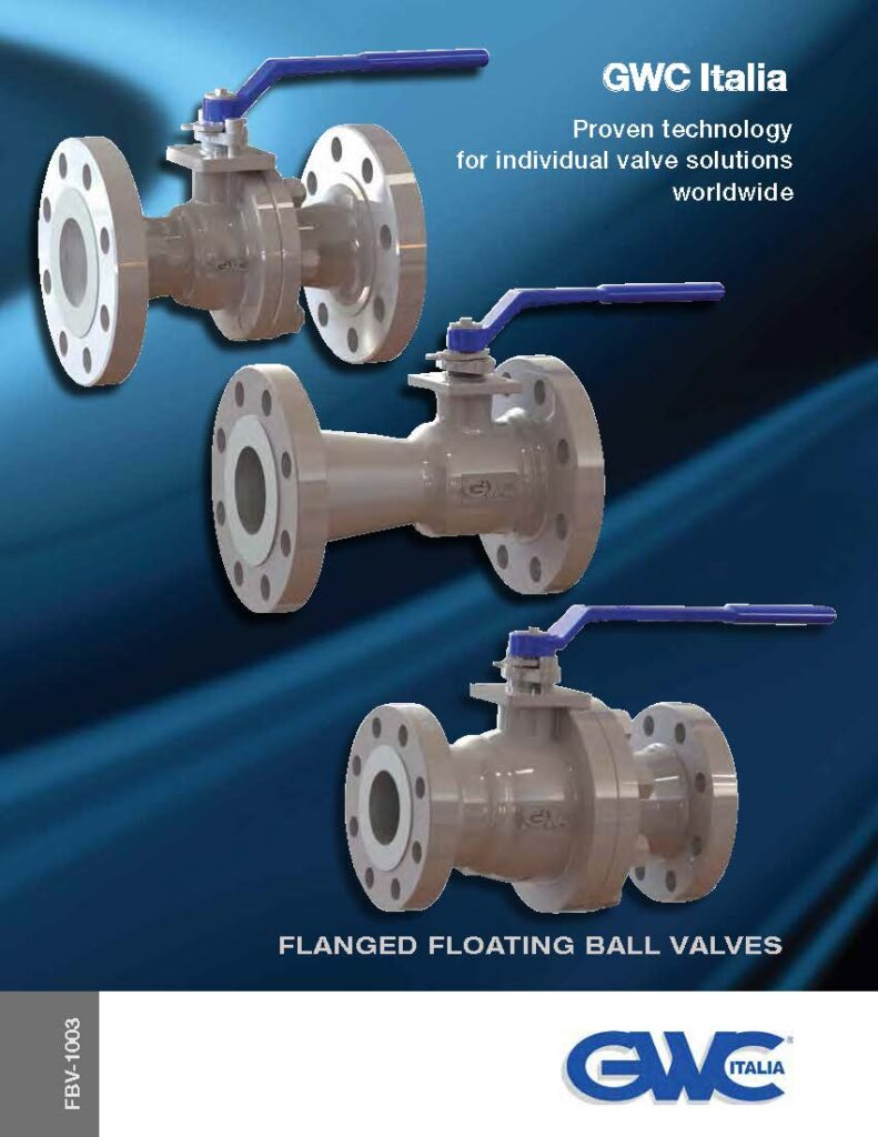 Catalogue Flanged Floating BV