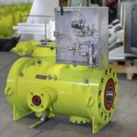 """Compact Twin Balls Design 8""""x6"""" 2500# - metal seated with Hydraulic actuator TAT tested"""