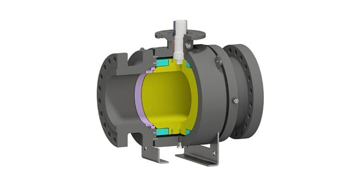 Trunnion Mounted Ball Valve Side Entry Welded Body
